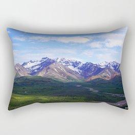 Denali, Mt. McKinley Rectangular Pillow