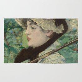 Edouard Manet - Jeanne (Spring) Rug