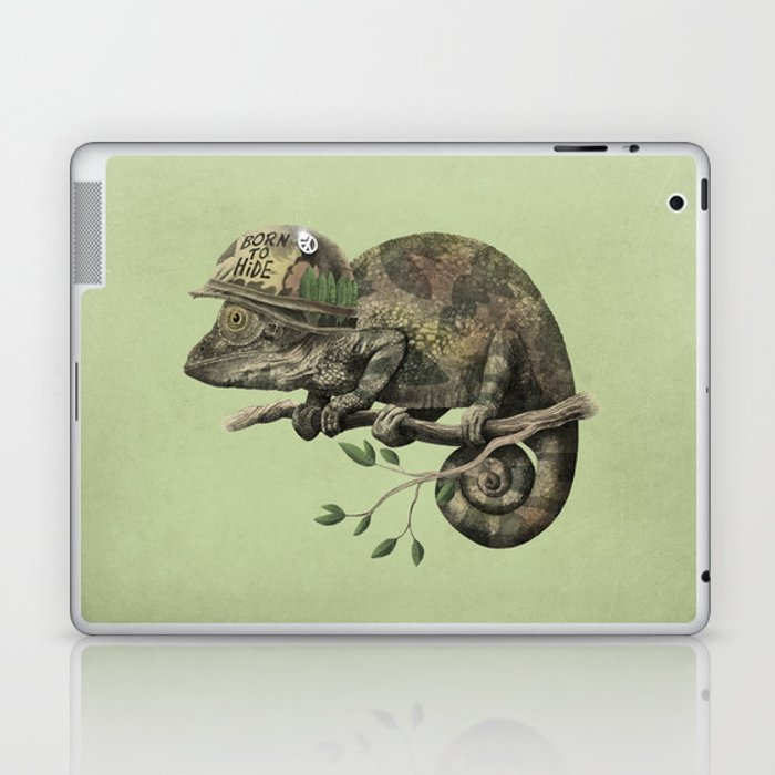 Born to Hide - Color Option Laptop & iPad Skin