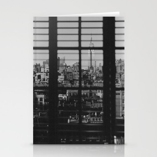 Through The Blinds Stationery Cards