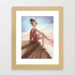 On The Other Side Framed Art Print