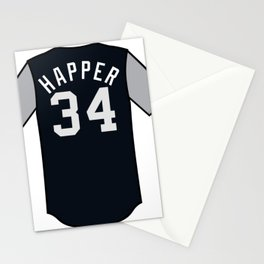 J.A. Happ Players' Weekend Jersey Stationery Cards