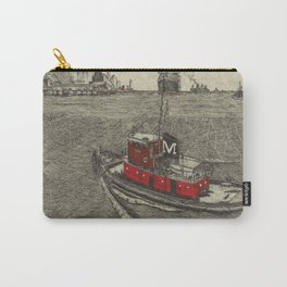 Morgan Tugboat, Hudson river, New York Carry-All Pouch