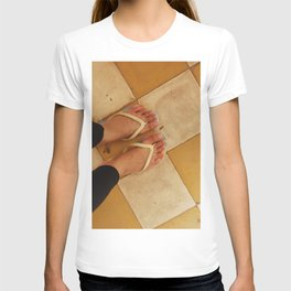 Footsteps in Tuol Sleng T-shirt