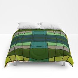 Green Pattern Turtle Comforters