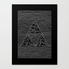 Triforce // Joy Division Canvas Print