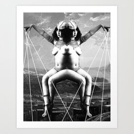 Unsound Mind #2 Art Print