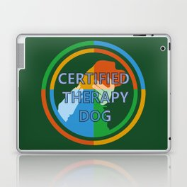Animal Assisted Activities  - THERAPY DOG 8 Laptop & iPad Skin