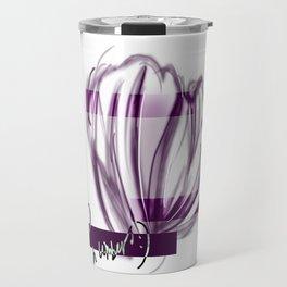 Floral Shell Travel Mug