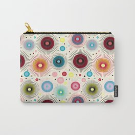 Vintage Circus Starburst Carry-All Pouch