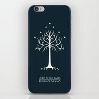 lord of the rings iPhone & iPod Skins featuring Lord Of The Rings ROTK by Jamesy