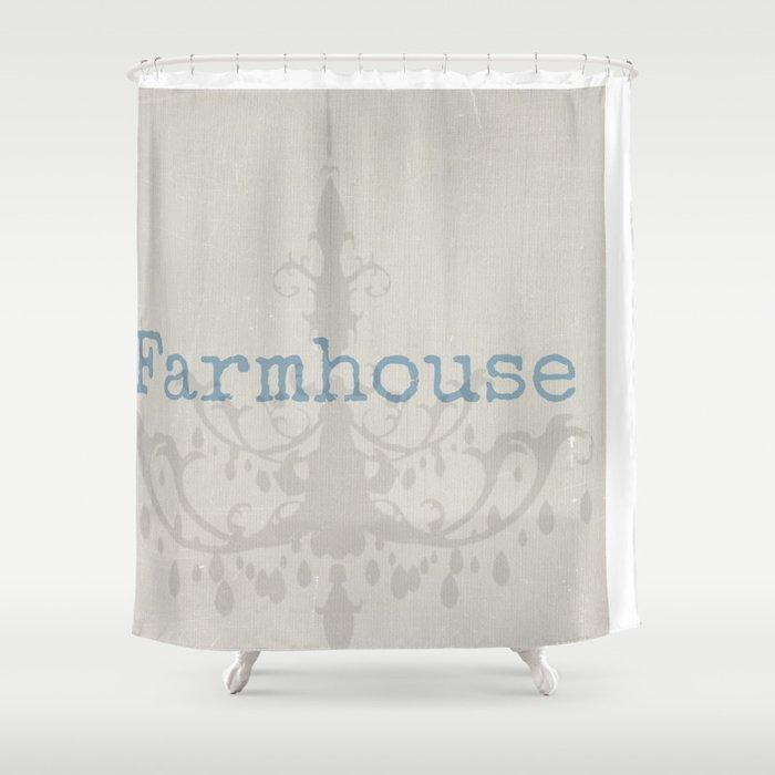 Farmhouse Shower Curtain By Angiemahoney
