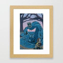 Ohmworld #2 Cover Framed Art Print