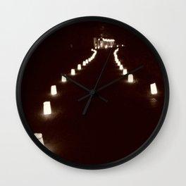 The Lumineres Wall Clock