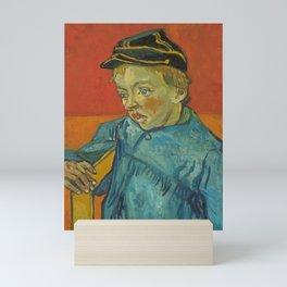 The Schoolboy (Camille Roulin) Mini Art Print