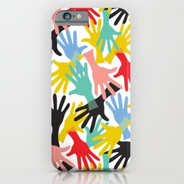 CELEBRATE! Graphic Hands iPhone Case