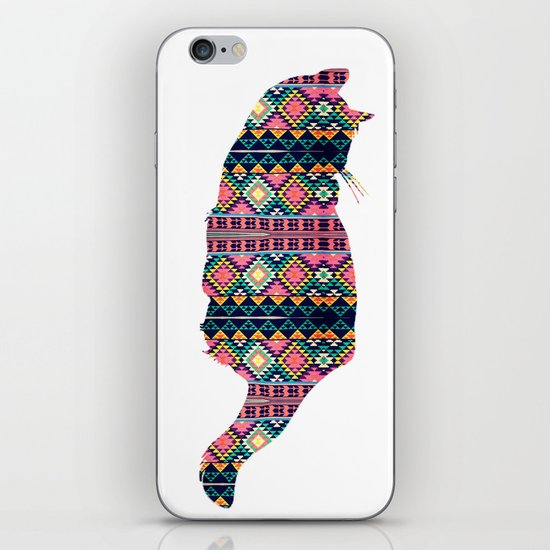 Aztec Cat iPhone & iPod Skin