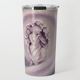 Guardian Angel - Angel painting Travel Mug