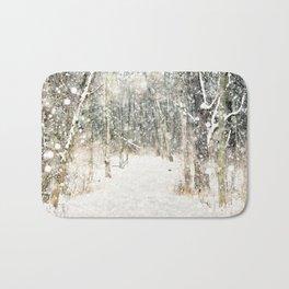 Winter Woods Bath Mat