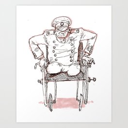 major pain Art Print