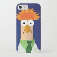muppets iPhone & iPod Cases featuring Beaker - Muppets Collection by Bryan Vogel