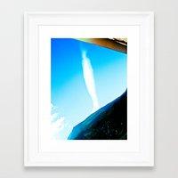 rare Framed Art Prints featuring Rare cloud. by Alejandra Triana Muñoz (Alejandra Sweet