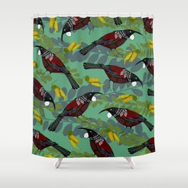 Tui Pattern Shower Curtain