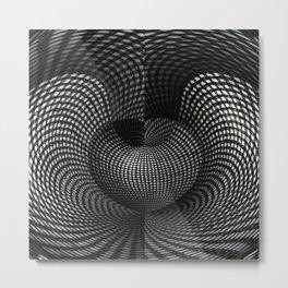 Dimensional Metal Print