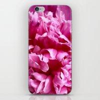 peony iPhone & iPod Skins featuring Peony by IowaShots