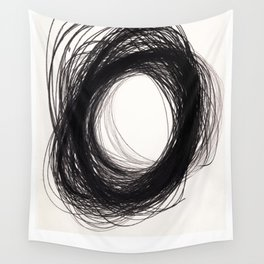 power of lines Wall Tapestry