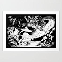 Murhddraal's Gambit Art Print