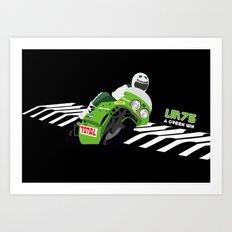 Kawasaki  Art Print