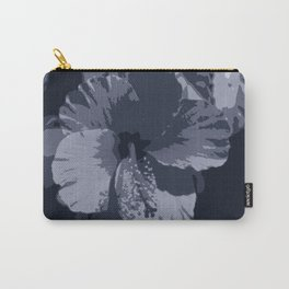 Tropical Night Black and White  Carry-All Pouch