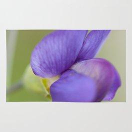Taking Flight - Purple Lupin, New Zealand Rug