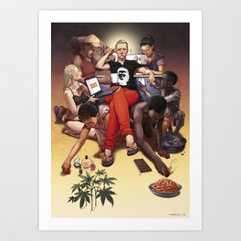 Your Own Personal Slaves (version 2) Art Print