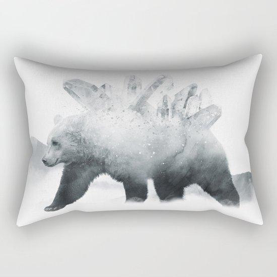 Crystal Bear Rectangular Pillow