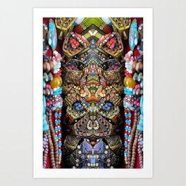 Indigenous Bling Art Print