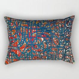 Abstract Composition 473 Rectangular Pillow
