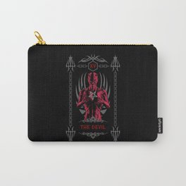 The Devil XV Tarot Card Carry-All Pouch