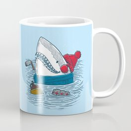 Great White North Shark Coffee Mug