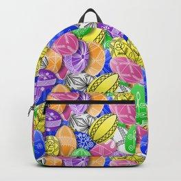 polish easter eggs Backpack