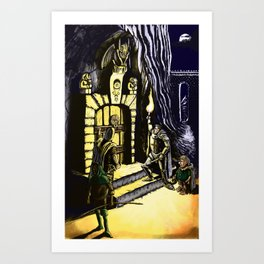 Door to Adventure Art Print