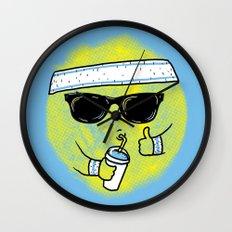 Dealin' With Summer Wall Clock