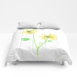 Simple Sunflower Comforters