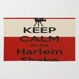 Keep Calm do the Harlem Shake Rug