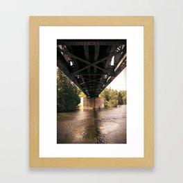 Underpass Framed Art Print