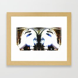 P the CASSO «the body in the middle» Framed Art Print