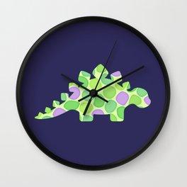Stuart the stegosaurus Wall Clock