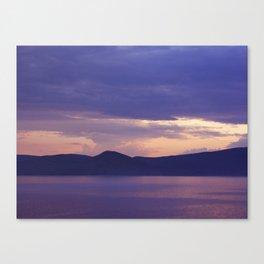 Lake 3 Canvas Print