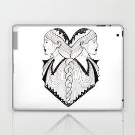 Gemini - Zodiac Portrait Laptop & iPad Skin